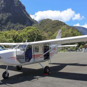 Flygplan av modellen GippsAero GA8 Airvan.