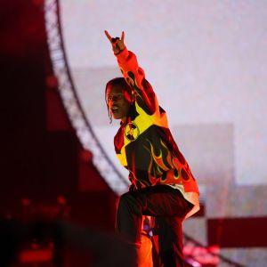 Asap Rocky esiintyi perjantaina Tampereen Blockfestissä.