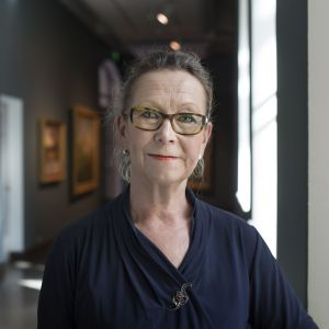 Ateneumin taidemuseon johtaja Marja Sakari.