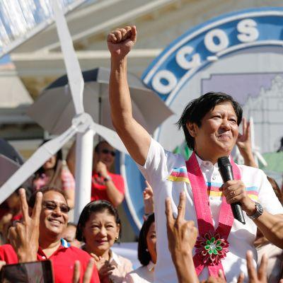 """Filippiiniläinen Senaattori Ferdinand """"Bongbong 'Marcos Junior 9. helmikuuta 2016"""