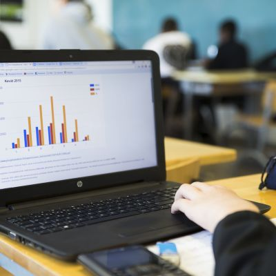 Alppilan lukion oppilaan tietokone