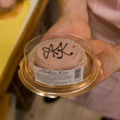 Aleksis Kivi -leivos.