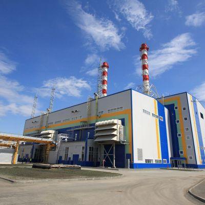 Fortumin Tšeljabinskin voimalaitos Venäjällä.