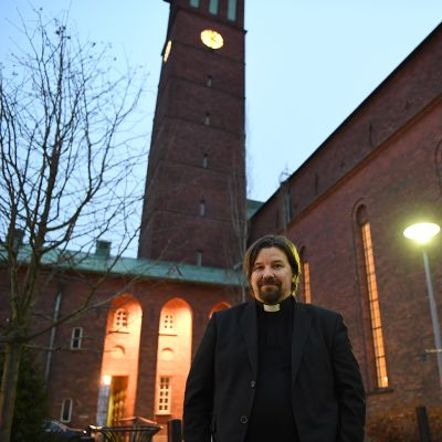Paavalin seurakunnan kirkkoherra Kari Kanala.
