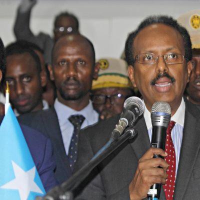 Mohamed Abdullahi Farmajo.