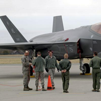 USA:n ilmavoimien vierailu Virossa.