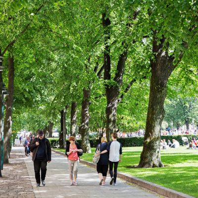 Esplanadin puisto.