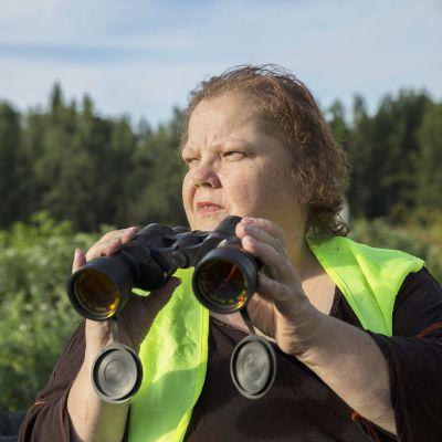 Teija Merinen, sihteeri, Maununlapuiston palstaviljelijät.