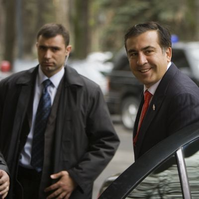 Georgian entinen presidentti Mihail Saakashvili