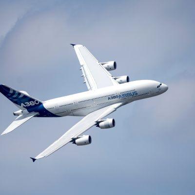 A380 -matkustajalentokone.