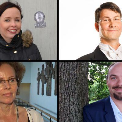 Emilie Gardberg, Petri Tulonen, Maija Palonheimo, Ville Matvejeff