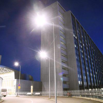 HUS:n  Meilahden tornisairaala Helsingissä