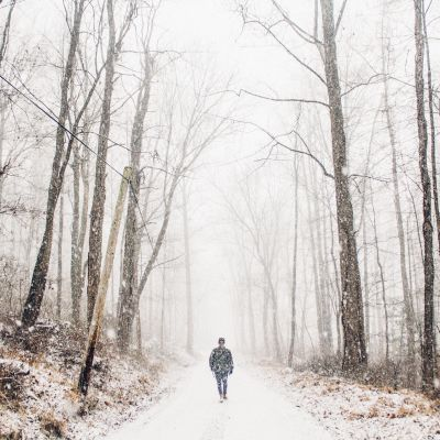 promenad i vinter