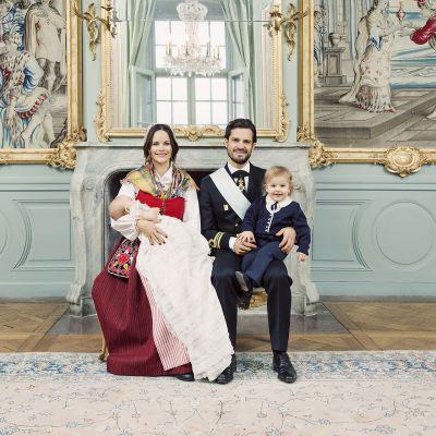 Prinssi Gabriel ristiäiset ruotsin kuninkaalliset