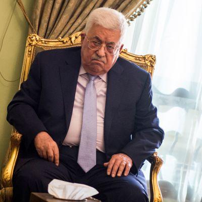 Palestiinalaisten presidentti Mahmud Abbas vieraili Egyptin pääkaupungissa Kairossa 11.12.2017.