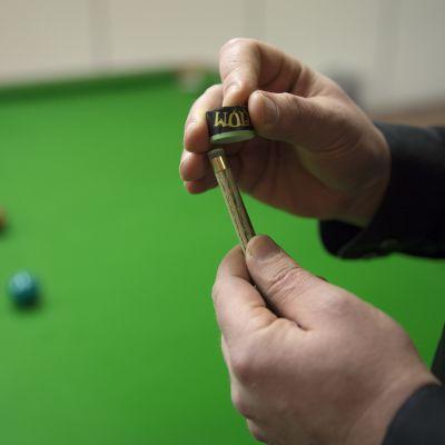 Snooker peli.