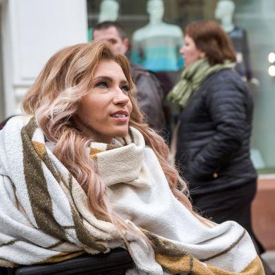 Venäjän euroviisuedustaja Julija Samoilova.