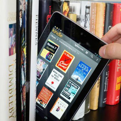 Kaikki Suomessa julkaistut e-kirjat eivät päädy kirjastoon.