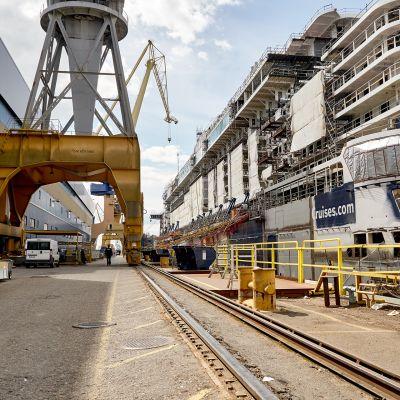 Meyerin telakka Turussa.