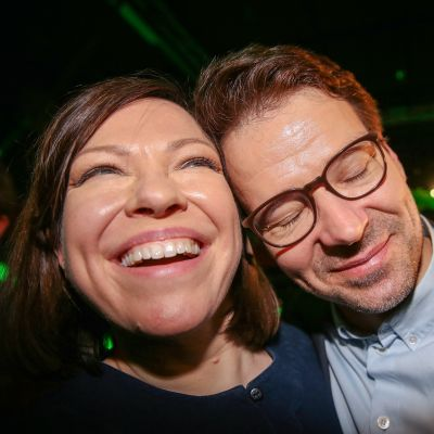 Anni Sinnemäki ja Ville Niinistö