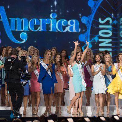 Tävlingen Miss America 2018.