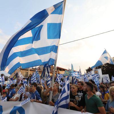 Mielenosoitus Kreikassa
