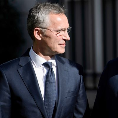 Jens Stoltenberg ja Donald Trump