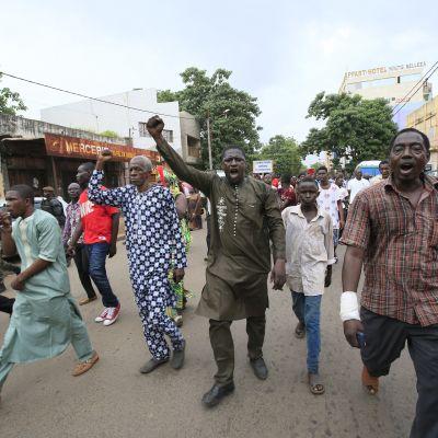 Mielenosoitus Bamakossa