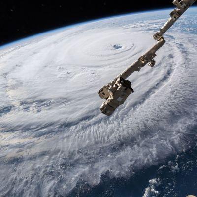 Hurrikaani Florence sateliittikuvissa
