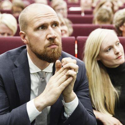 Touko Aalto ja Maria Ohisalo