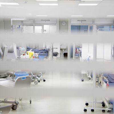 Oulun yliopistollisen sairaalan avosairaala.