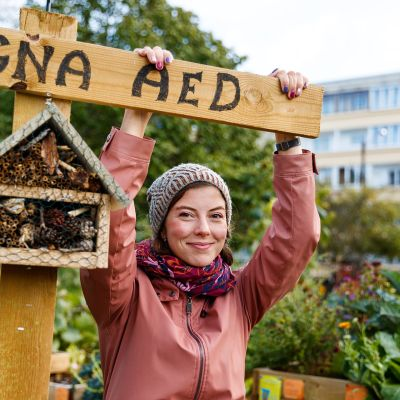 Maria Derlõš on venäjänkielinen kaupunginosa-aktivisti, joka haluaa kumota Lasnamäen lähiöön liittyvät negatiiviset mielikuvat.