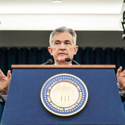 Yhdysvaltain keskuspankin FED:in pääjohtaja Jerome Powell