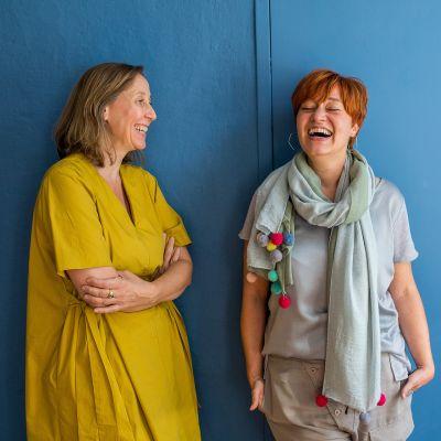 Stich by Stichin omistajat Nicole von Alvensleben ja Claudia Frick.