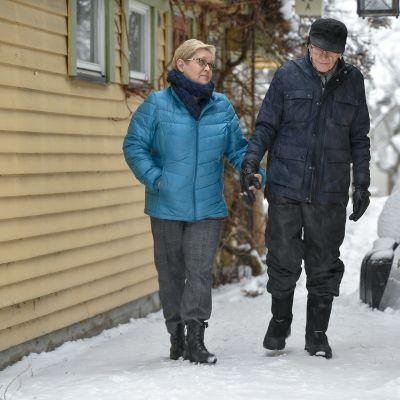 Rauni Heinonen ja Ensio Liukku.