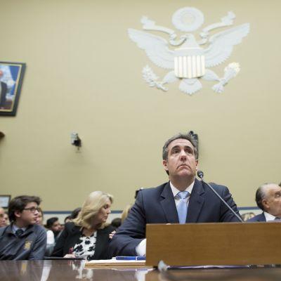 Michael Cohen kongressin kuultavana.