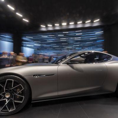 Piëch Mark Zero -sähköauto esiteltiin Geneven autonäyttelyssä 5. maaliskuuta 2019.