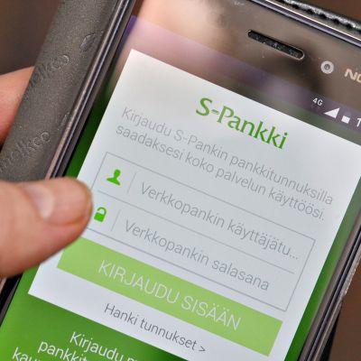 S-Pankin mobiili-liittymä