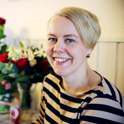Kansanedustaja Heidi Viljanen.