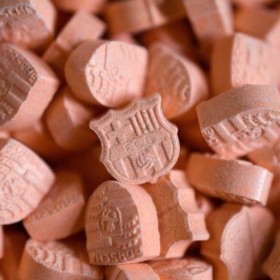 Ekstaasipillereitä.