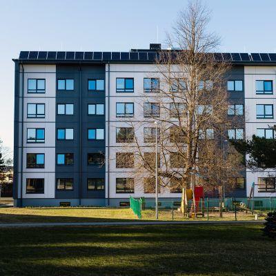Ulkoapäin ei arvaisi, että Tallinnan teknillisen yliopiston kampuksella seisova talo on rakennettu jo vuonna 1986.