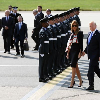 Trump saapuu Lontooseen