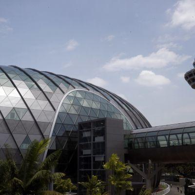 Singaporen lentokenttä.