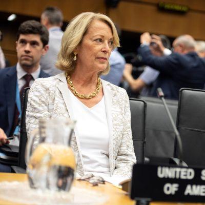 Yhdysvaltain YK-lähettiläs ja edustaja IAEA:ssa syytti lausunnossaan Irania ydinvoimalla kiristämisestä.