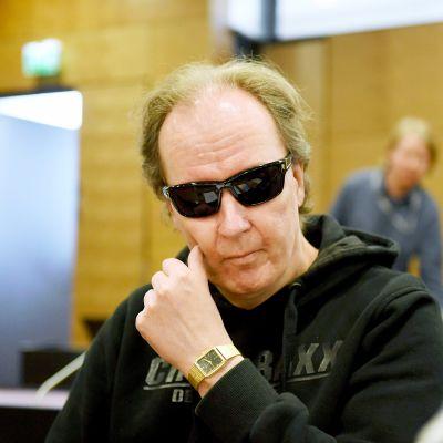 Michael Penttilä murhasyytten käsittelyssä Helsingin hovioikeudessa.