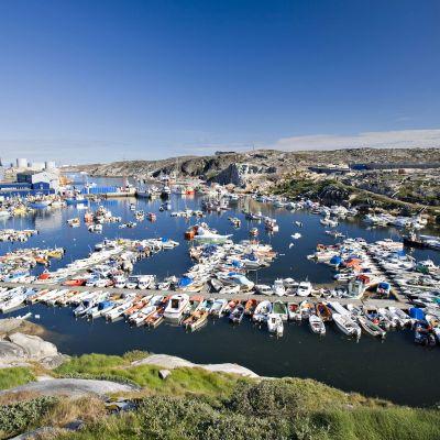 Illulisatin satama Grönlannissa.
