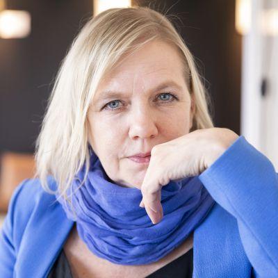 Pohjoismaisen elokuva- ja tv-säätiön uusi toimitusjohtaja, suomalainen Liselott Forsman.
