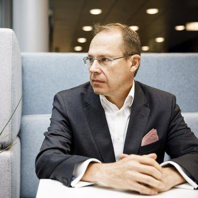 Postin toimitusjohtaja Heikki Malinen.