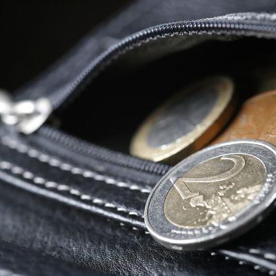 kolikoita tulee ulos lompakosta