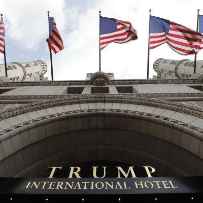 Washingtonin Trump-hotellin baari, ravintola ja Ivanka-kylpylä on suljettu koronan takia.